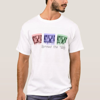 Camiseta T-shirt da arquitectura da cidade RBG 2 -