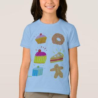 Camiseta T-shirt da arte: Bolos do querido