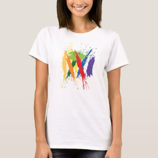Camiseta T-shirt da arte da proteína de GPCR (mulheres)