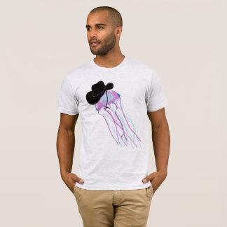 Camiseta T-shirt da arte das medusa do vaqueiro