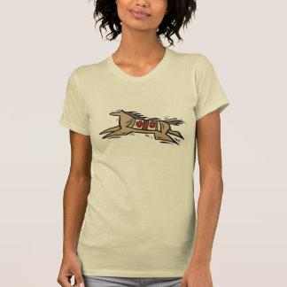 Camiseta T-shirt da arte do nativo americano