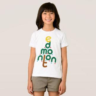 Camiseta T-shirt da árvore de Edmonton do Natal