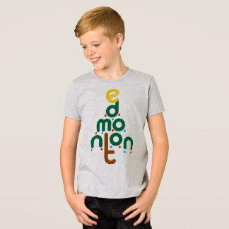 Camiseta T-shirt da árvore de Natal de Edmonton