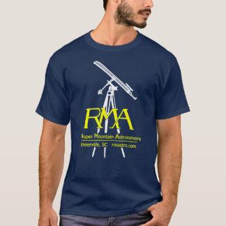 Camiseta T-shirt da astronomia do logotipo de RMA
