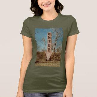 Camiseta t-shirt da atração da borda da estrada