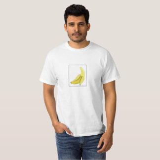 Camiseta T-shirt da banana da arte do pixel