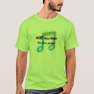 Camiseta T-shirt da banda de jazz de BCHS