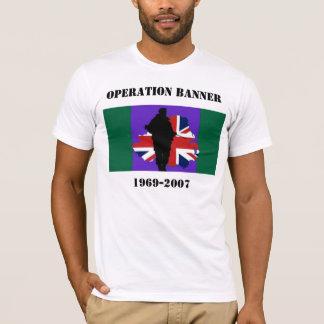 Camiseta T-shirt da bandeira da operação