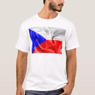 Camiseta T-shirt da bandeira da república checa