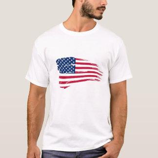 Camiseta T-shirt da bandeira de América