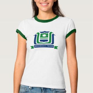 Camiseta T-shirt da bandeira de Beaumont