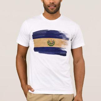 Camiseta T-shirt da bandeira de El Salvador