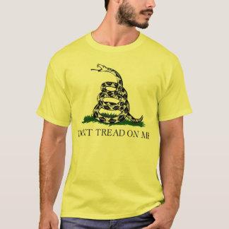 Camiseta T-shirt da bandeira de Gadsden
