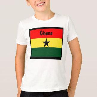 Camiseta T-shirt da bandeira de Ghana