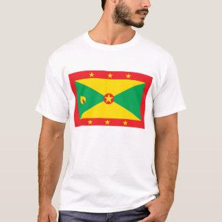 Camiseta T-shirt da bandeira de Grenada