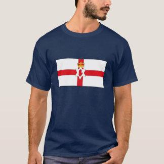 Camiseta T-shirt da bandeira de Irlanda do Norte