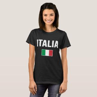 Camiseta T-shirt da bandeira de Italia