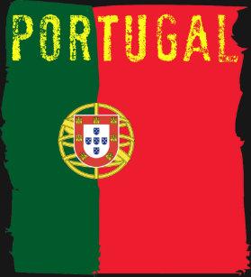 374343c1db Camiseta T-shirt da bandeira de Portugal