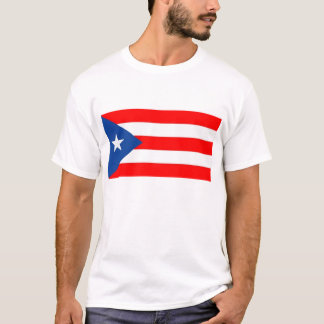 Camiseta T-shirt da bandeira de Puerto Rico