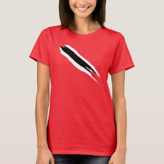 Camiseta T-shirt da bandeira de Trinbago (mulheres)