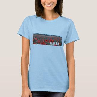 Camiseta T-shirt da bandeira do Ra de Alex