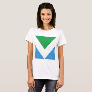 Camiseta T-shirt da BANDEIRA do VEGAN