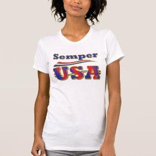 2ddc4d3934 Camiseta T-shirt da bandeira dos Estados Unidos de América