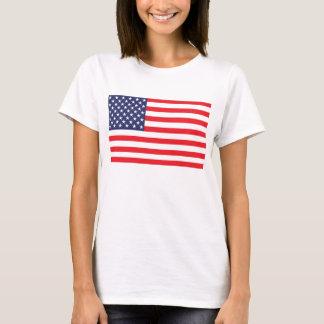 Camiseta T-shirt da bandeira dos EUA