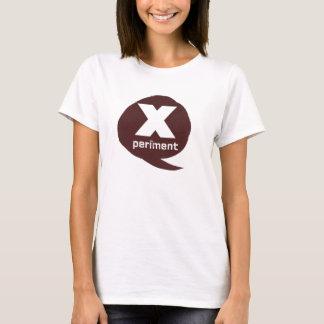Camiseta t-shirt da bolha da experiência