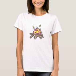 Camiseta T-shirt da boneca da fogueira