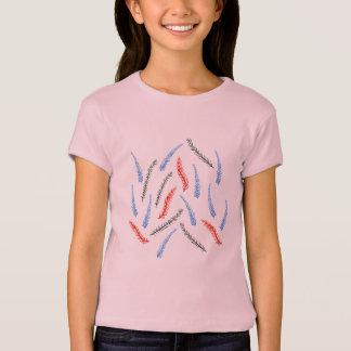 Camiseta T-shirt da boneca das meninas do ramo
