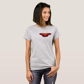 Camiseta T-shirt da borboleta