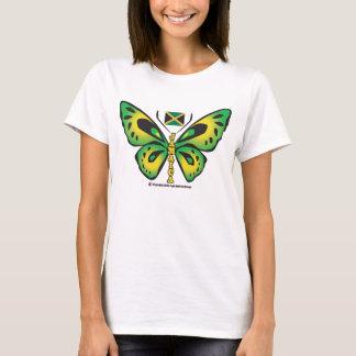 Camiseta T-shirt da borboleta de Jamaica