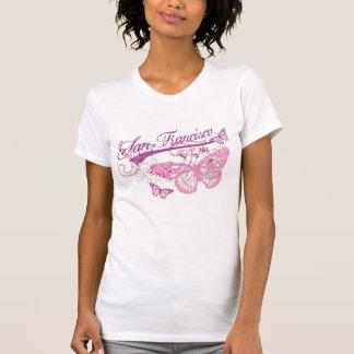 Camiseta t-shirt da borboleta de San Francisco