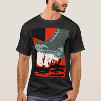 Camiseta T-shirt da bota de Orwell