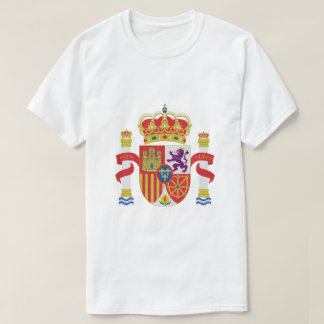 Camiseta T-shirt da brasão da espanha