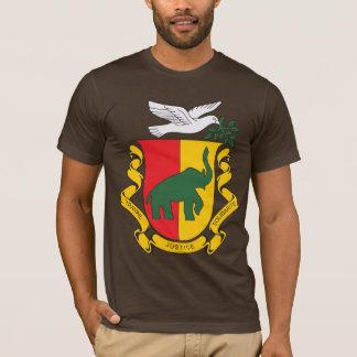 Camiseta T-shirt da brasão da Guiné 1958) (