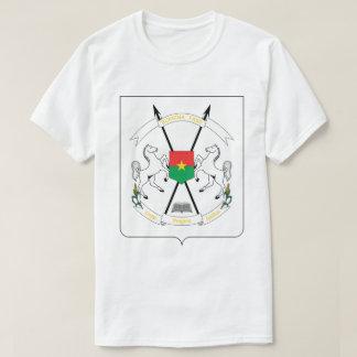 Camiseta T-shirt da brasão de Burkina Faso