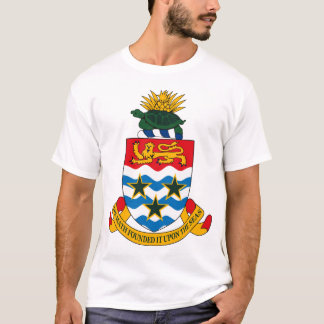 Camiseta T-shirt da brasão de Cayman Islands