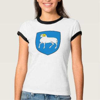 Camiseta T-shirt da brasão de Faroe Island