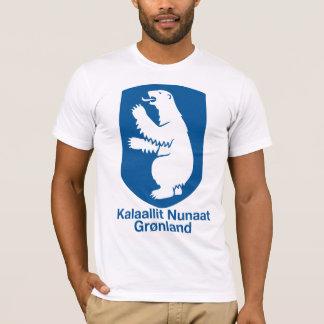 Camiseta T-shirt da brasão de Greenland