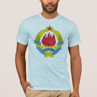 Camiseta T-shirt da brasão de Jugoslávia 1963) (