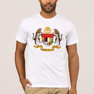 Camiseta T-shirt da brasão de Malaysia
