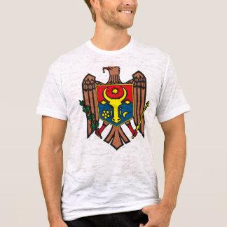 Camiseta T-shirt da brasão de Moldova