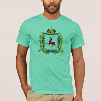 Camiseta T-shirt da brasão de Nizhny Novgorod