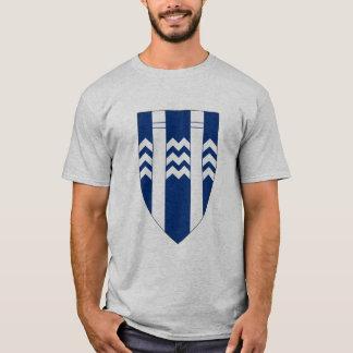 Camiseta T-shirt da brasão de Reykjavik