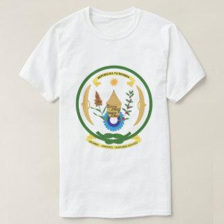 Camiseta T-shirt da brasão de Rwanda