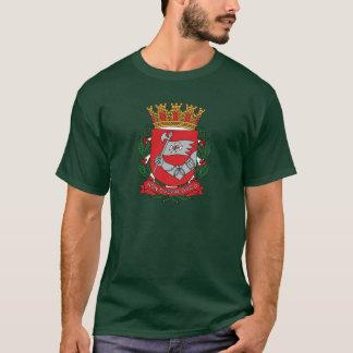 Camiseta T-shirt da brasão de Sao Paulo