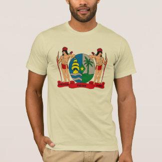 Camiseta T-shirt da brasão de Suriname