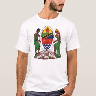 Camiseta T-shirt da brasão de Tanzânia
